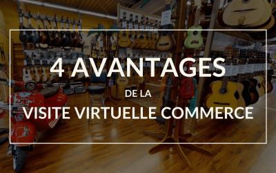 Les 4 avantages de la visite virtuelle 360° pour les commerces