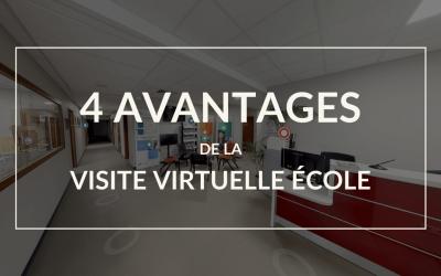 Les 4 avantages de la visite virtuelle 360° pour les écoles