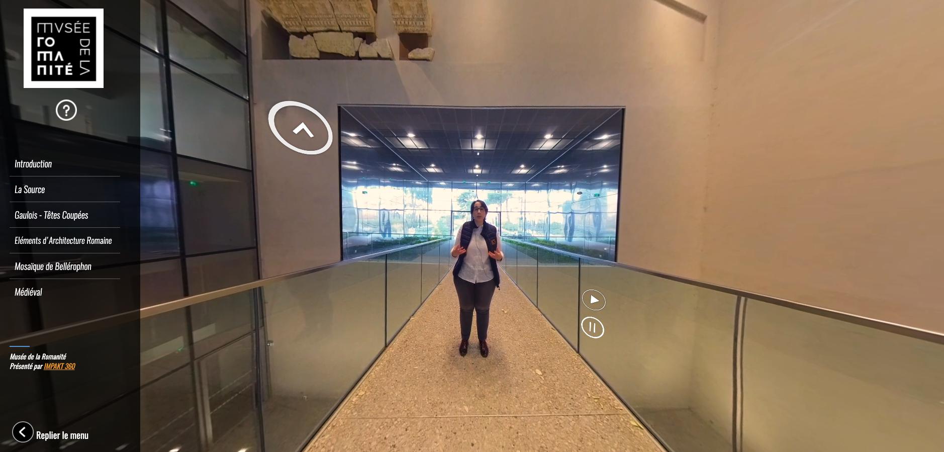 Musée Romanité Guide 360°