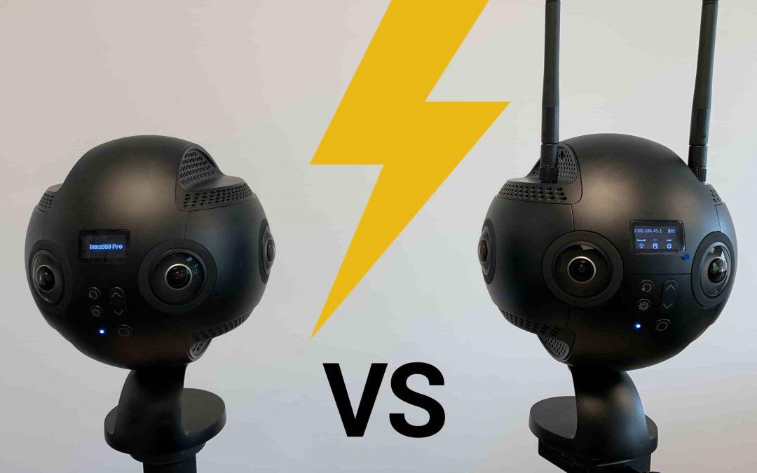 [Comparaison] – INSTA360 PRO vs INSTA360 PRO 2