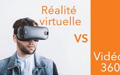 Réalité virtuelle vs Vidéo 360 : Quelles différences ?
