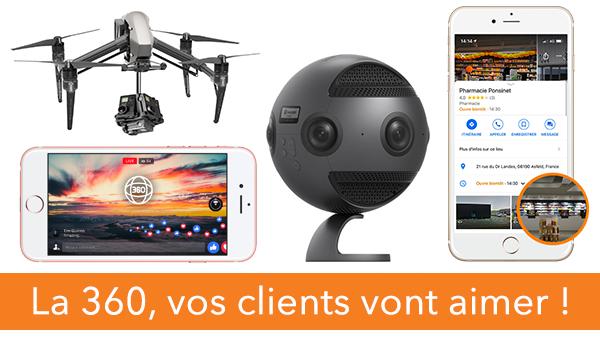 La 360, vos clients vont aimer !