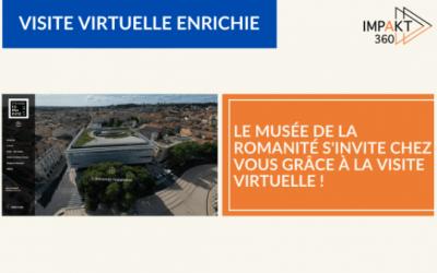 Le Musée de la Romanité s'invite chez vous grâce à la visite virtuelle